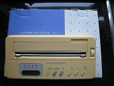 Knitmaster Kr 11 Electronic Knit Contour