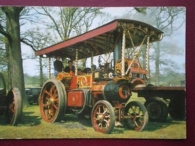 Postcard  Burrell Showman's Engine 4 Nhp Built 1921