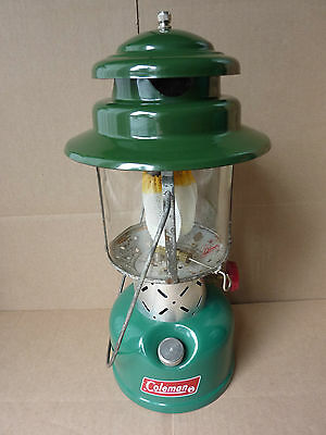 Coleman 220F gas Lantern - Rare '71 Canadian model - great original condition