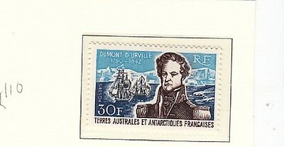 Explorers- TAAF - Dumont d Urville  30fr MH previously-fine, sg£110