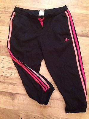 Adidas 3/4 Cropped Joggers Tracksuit Bottoms 13 14