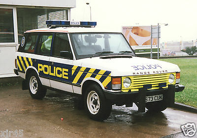 25 - 6x4 Colour Photos of Older WEST MIDLANDS Police Vehicles