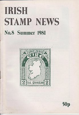 Irish Stamp News Booklet,no.8 Summer 1981,39 Page Booklet,collectors Item