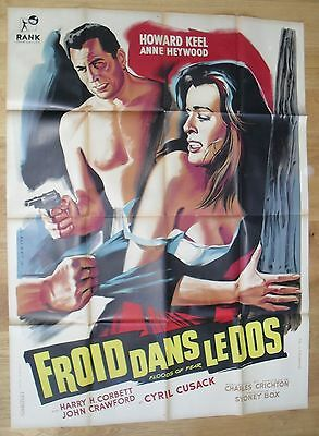 FLOODS OF FEAR anne heywood original french movie poster '58