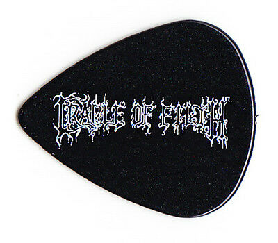 Cradle Of Filth Hammer Of The Witches Logo Black Guitar Pick - 2016