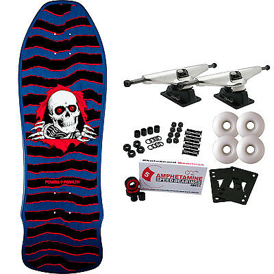 POWELL PERALTA Skateboard Complete GEEGAH RIPPER BLUE Old School