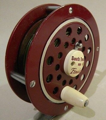 Vintage Southbend 1122 Finalist Reel with Line Japan Excellent Working