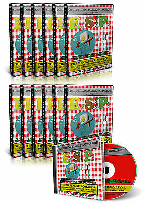 Psychic Mentalism ESP Mind Reading Cold Reading Tricks Show Routines DVD Video