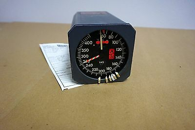 """4"""" Aircraft Mach / Airspeed Indicator (Sperry)"""