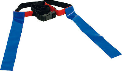 PT Rugby Tag Belt Junior Mini-Rugby Belt Senior Training Belts Velcro Fastening