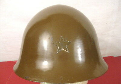 WWII Imperial Japanese Army Model 30 Steel Helmet w/Leather Liner - Repro #2