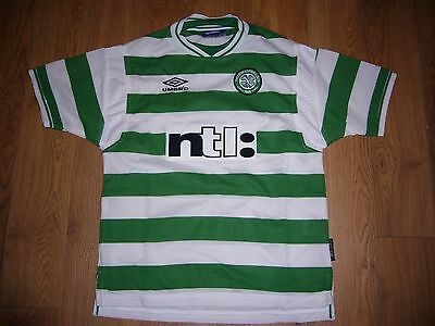 Celtic Umbro Football Top Size Youth
