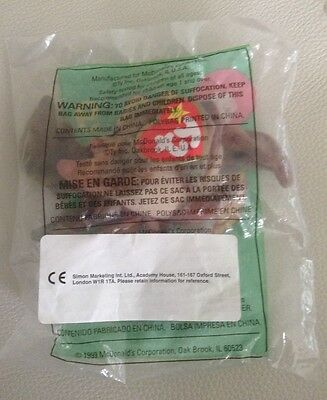 brand new unopened McDonald's TY Claude the crab soft toy