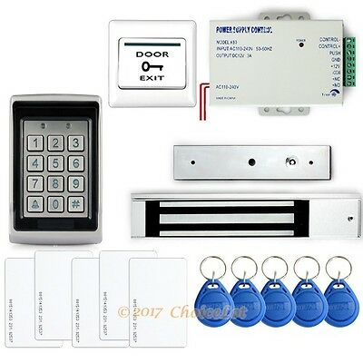 Complete Kit Set RFID Door Access System With 280kg Magnetic Lock Brand NEW
