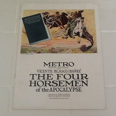 1921 Rudolph Valentino in Four Horsemen of the Apocalypse  Beautiful Color Pages