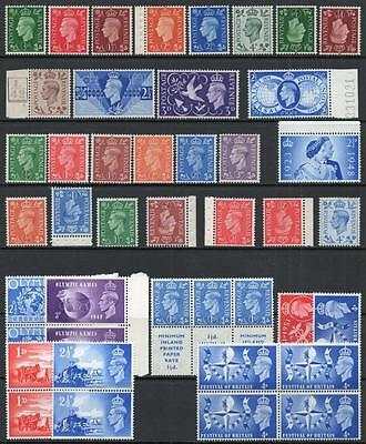 George V1 1937-1952 Selection, Fine Unmounted Mint