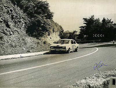Giorgio Pianta Opel Commodore GS 1972 altes Pressefoto  Foto 18x24