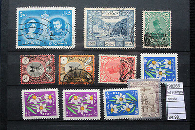 Lot Stamps Persia (F98266)