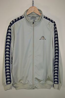 vtg 90s KAPPA RARE OLDSCHOOL RETRO TRACK JACKET TRACKSUIT TOP CASUALS size XL