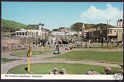 The Childrens Speedway, Ilfracombe...Postcard