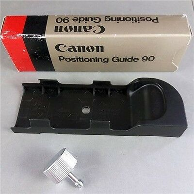 Canon T90 Positioning Guide 90 Speedlite 577G 533G Camera Holder F4 New Old Stoc
