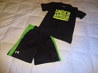 Lot of 2: YOUTH Under Armour Boys Shirt & Shorts, Youth Boys size 6