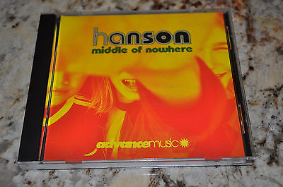 RARE Hanson Middle Of Nowhere Full Length US PROMO CD!
