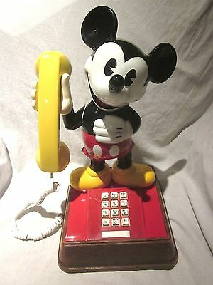 Original Mickey Mouse Touchtone Telephone