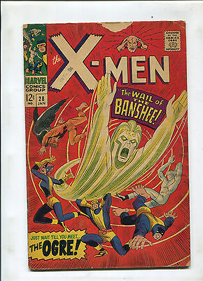 X-Men #28 (4.0) 1St Banshee Key!