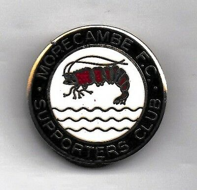 Morecambe Fc Supporters Club Badge