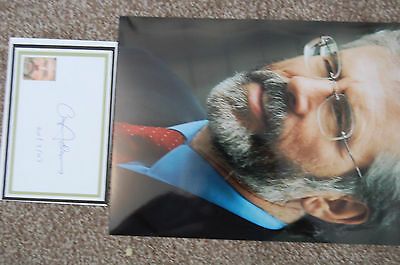 Gerry Adams 12X8 Photo  With Signed White Card