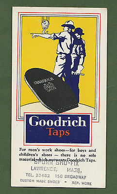 Ink Blotter Goodrich Taps For Men's Work Shoes sole material