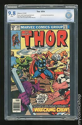 Thor (1962-1996 1st Series Journey Into Mystery) #304 CBCS 9.8