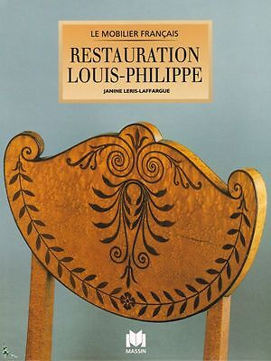 French furniture : Restoration - Louis Philippe