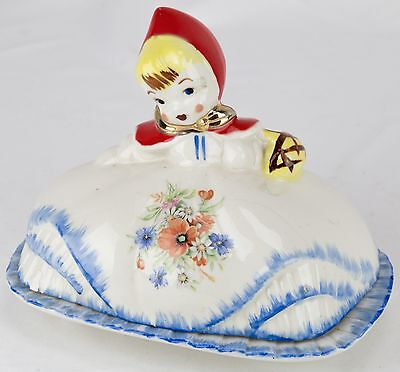 Hull Little Red Riding Hood Butter Dish