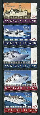 2010 Norfolk Island Cruise Ships - MUH Complete Set