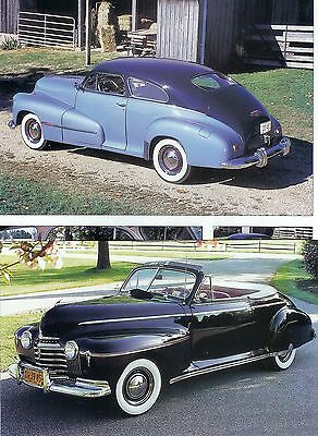 1941 1942 1946 1947 1948 OLDSMOBILE  14 page Color Article 66 DYNAMIC 76 98