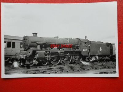 Photo  Lms Jubilee 4-6-0  45577  Bengal  At Carstiars Station Sidings