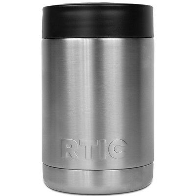 RTIC Coolers 12 oz. Stainless Steel Vacuum Insulated Can or Bottle Cooler