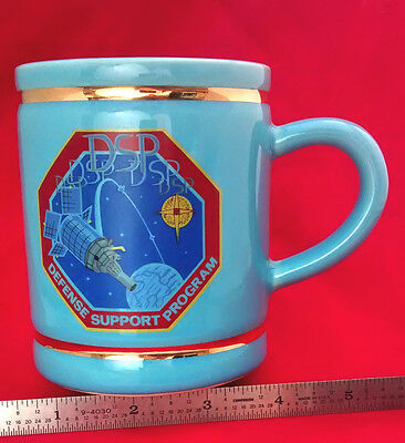 DSP, SPACE DIVISION Satellite Coffee Mug DEFENSE SUPPORT PROGRAM U.S.A.F. g2