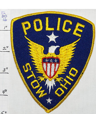 Ohio, Stow Police Dept Eagle Patch