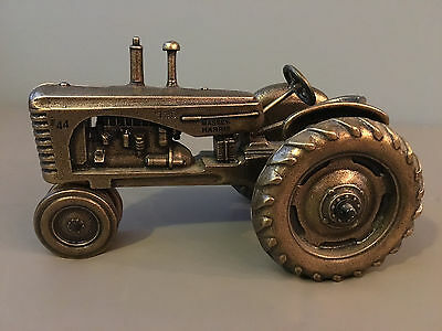 RARE MASSEY-HARRIS E44 Bronze Model Tractor Limited Edition Numbered #135