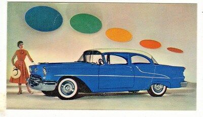 "1950's Oldsmobile ""88"" Two Door Sedan Color Advertising Card"