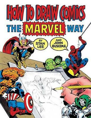 How to Draw Comics the Marvel Way by Stan Lee (English) Prebound Book Free Shipp