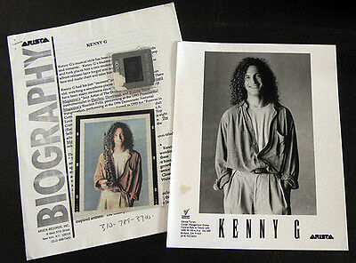 RARE Kenny G The Moment Press Kit! A25