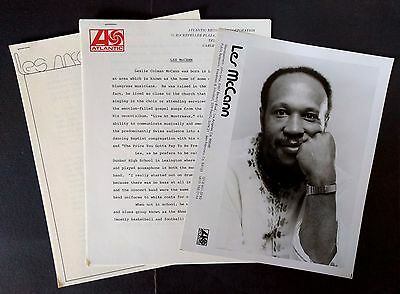 RARE Les McCann Press Kit for Another Beginning! Photo N09