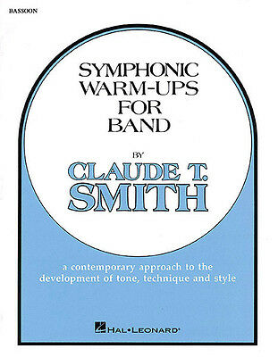 Symphonic Warm Ups for Bassoon Learn Music Method Hal Leonard Book NEW