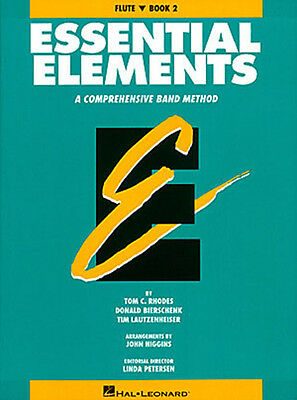 Essential Elements Book 2 for Flute Band Method Early Intermediate Lessons NEW