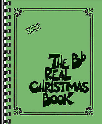 The Real Christmas Book B Flat Sheet Music Bb Trumpet 150 Songs Fake Book NEW
