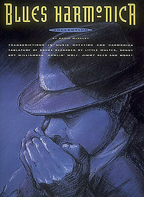 Blues Harmonica Collection Harp Tab Sheet Music Chords Lyrics 41 Songs Book NEW